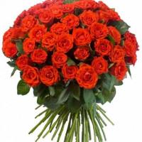 "101 алая роза ""Эль Торо"""