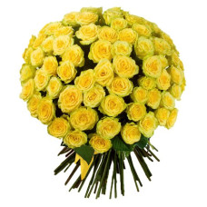 101 подмосковная желтая роза