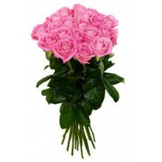 """25 розовых роз """"Ревиваль"""""""