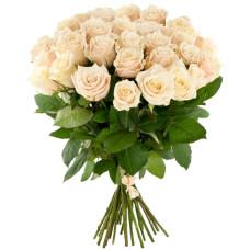 35 подмосковных персиковых роз