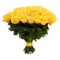 25 подмосковных желтых роз
