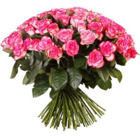 51 подмосковная  розово-белая роза