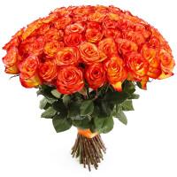 51 оранжевая роза (Эквадор)