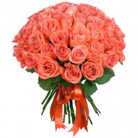 """51 коралловая роза """"WOW"""""""