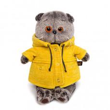 Басик в желтой куртке