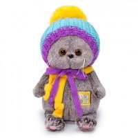 Басик BABY в вязаной шапке