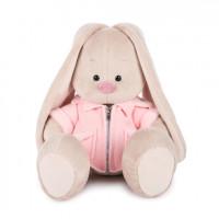 Зайка Ми в розовой меховой курточке (большая)