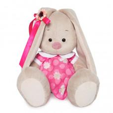 Зайка Ми в розовом платье с белым воротничком (большой)