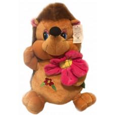 Ёжик с цветочком