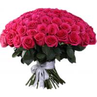 101 малиновая роза (Эквадор)