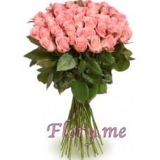 35 подмосковных  розовых роз