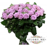 25 подмосковных сиреневых роз