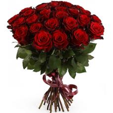 51 бордовая роза (Эквадор)